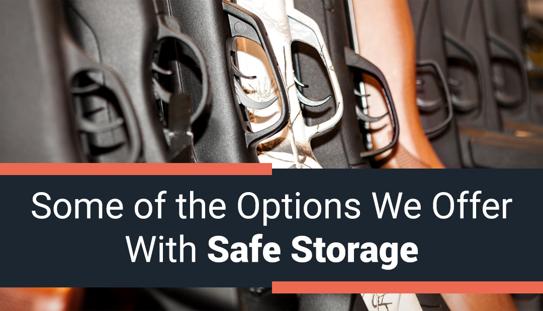 Some of the Security Measures We Offer with Safe Storage