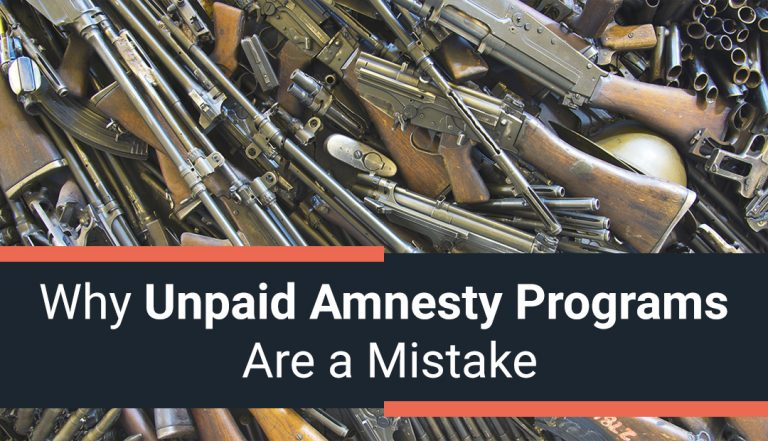 Why Unpaid Amnesty Programs Are a MISTAKE