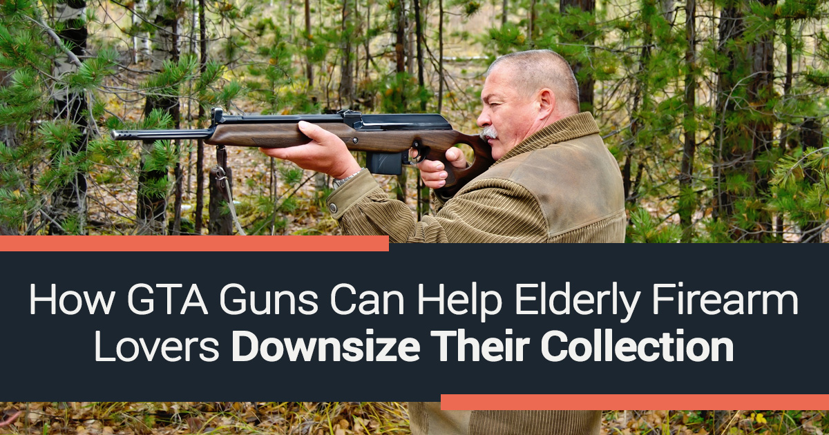 How GTA Guns Can Help Elderly Firearm Lovers Downsize Their Collection