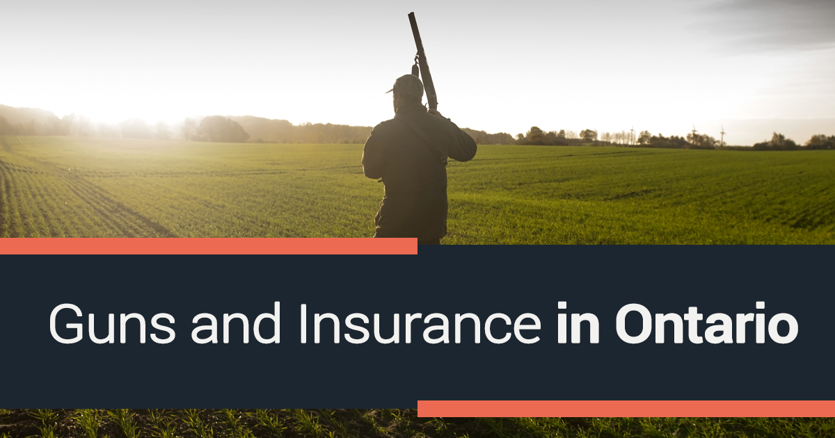 Guns and Insurance in Ontario