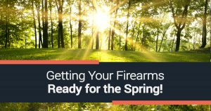 To make sure everything goes well and your firearms are in tip-top shape, here's everything you need to know to get your guns ready for spring.