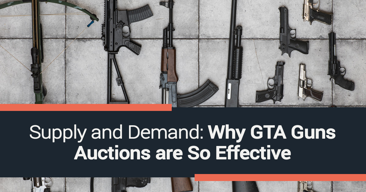 Supply and Demand: Why GTA Guns Auctions are So Effective