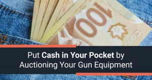 Put Cash in Your Pocket by Auctioning Your Gun Equipment