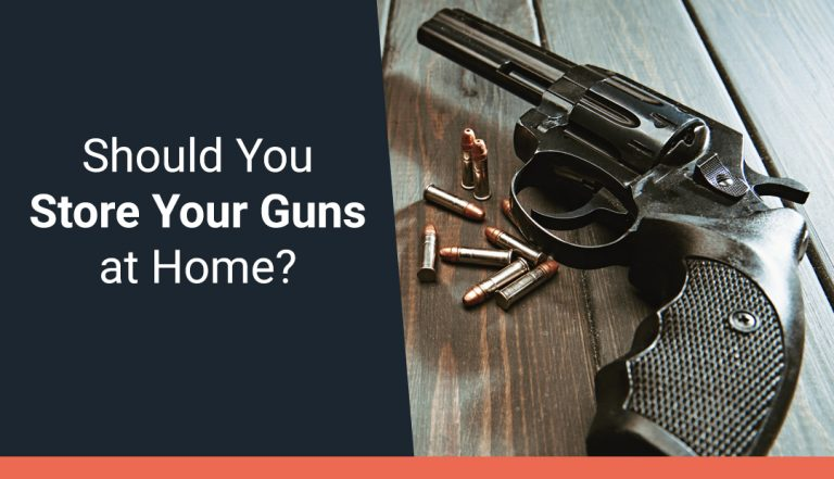 Should You Store Your Guns at Home?